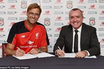 Tin chính thức: Jurgen Klopp đã về Liverpool