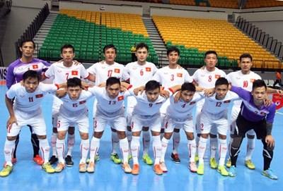 Thắng Myanmar, tuyển Futsal Việt Nam rộng cửa vào bán kết
