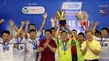 Thái Sơn Bắc vô địch giải futsal TP.HCM mở rộng – cúp LS 2016
