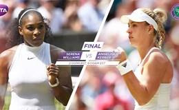 Chung kết Wimbledon: Danh hiệu lịch sử cho Serena Williams