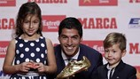 """Suarez: """"Tôi không giành Chiếc giày Vàng thì sẽ là Messi hoặc Neymar"""""""