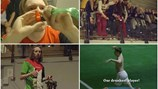 """Độc & lạ: Trận quyết đấu trên sân bóng của những anh chàng """"võ say"""""""