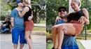"""Hậu đổ vỡ, """"cậu bé vàng"""" Maradona vẫn tình tứ bên bạn gái kém 30 tuổi tại Cuba"""