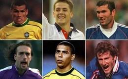 CR7 và 10 cầu thủ xuất sắc nhất của FIFA của năm 1998