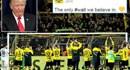"""Borussia Dortmund """"trêu ngươi"""" Tổng thống Trump"""