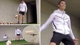 "Xem Ronaldo ""bắn hạ"" máy bay"