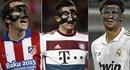 Chùm ảnh: Khi đeo mặt nạ, cầu thủ nào ngầu nhất?