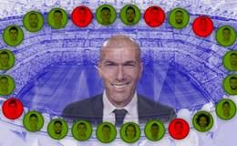 """Zidane xoay nhiều nhưng không... """"chóng mặt"""""""