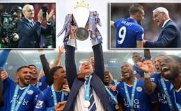 Khoảnh khắc 298 ngày ngọt ngào và cay đắng của Ranieri cùng Leicester