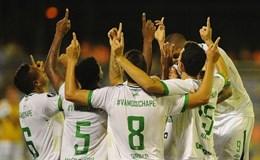 Chapecoense giành danh hiệu đầu tiên sau thảm họa rơi máy bay