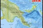 Nguy cơ sóng thần trước động đất 7,5 độ rích-te ngoài khơi Papua New Guinea