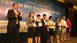 Công bố 100 nơi làm việc tốt nhất Việt Nam năm 2014