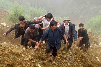 Còn 4 nạn nhân chưa được tìm thấy trong vụ sập mỏ quặng