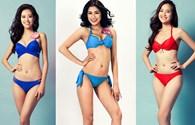 Thí sinh Hoa hậu Hoàn vũ 2015 khoe ba vòng nóng bỏng