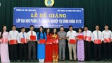 LĐLĐ tỉnh Sơn La: 1.047 lượt cán bộ được đào tạo, bồi dưỡng lý luận và nghiệp vụ công tác