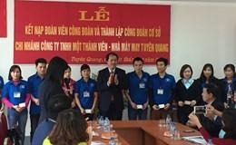 CĐ Dệt May VN: Tổ chức nhiều hoạt động tại TP. Tuyên Quang