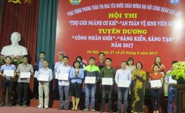 CĐ ngành Công thương Hà Nội: Tuyên dương 75 công nhân giỏi