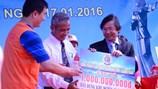 Tiếp nhận gần 15 tỉ đồng ủng hộ xây dựng Khu tưởng niệm nghĩa sĩ Hoàng Sa