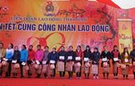 Hàng ngàn suất quà đến với công nhân lao động Thái Bình dịp Tết