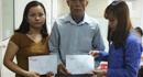 Quỹ Tấm Lòng Vàng Lao Động đến với 2 nạn nhân bị tai nạn lao động ở Nghệ An