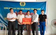 CĐ các KCN tỉnh Hà Nam: Bàn giao nhà mái ấm công đoàn cho công nhân có hoàn cảnh khó khăn