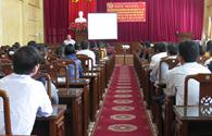 LĐLĐ huyện Thái Thụy (Thái Bình): Tuyên truyền kết quả Đại hội Đảng bộ tỉnh, huyện