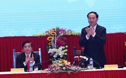 Chủ tịch nước Trần Đại Quang làm việc với Tổng LĐLĐVN