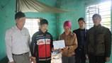Quỹ Tấm lòng Vàng báo Lao Động đến với vợ chồng bị khuyết tật bẩm sinh tại Hải Phòng
