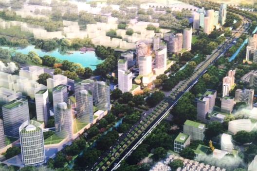 Hà Nội: Quy hoạch chi tiết xây dựng 2 bên tuyến đường Nhật Tân - Nội Bài