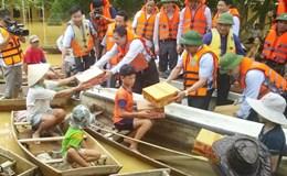 Hỗ trợ hơn 300 tỉ cho 12 địa phương khắc phục thiệt hại do bão, lũ