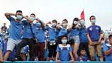 """Hội CĐV Than Quảng Ninh và VPF """"nói chuyện phải quấy"""""""