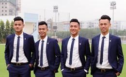 """U20 Việt Nam lịch lãm như những """"quý ông đá bóng"""""""