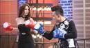 Ngọc Trinh mặc váy ngắn đấm boxing khiến Trấn Thành ngã sấp mặt