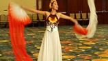Diệu Ngọc bị đứt dây đàn bầu trước phần thi tài năng tại Miss World