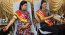 Hoa hậu Ngọc Hân, Á hậu Huyền My hào hứng hiến máu tại Chủ nhật Đỏ