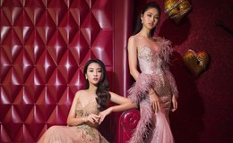 Hoa hậu Mỹ Linh, Thanh Tú khoe dáng ngọc trên du thuyền 5 sao
