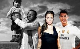 Minh tinh Angelina Jolie lần đầu đóng phim cùng Cristiano Ronaldo