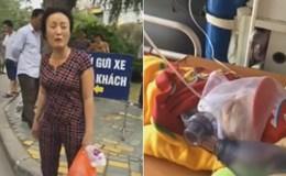 Chiếc xe cấp cứu bị chặn và nỗi đau của người mẹ mất con