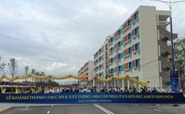 Khánh thành 1.700 căn nhà cho công nhân với giá 100 triệu/căn