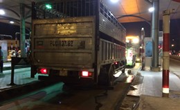 Đồng Nai: Xe tải tông tử vong một thiếu tá cảnh sát giao thông