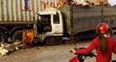 Xe tải tông chết 2 người trên QL1A