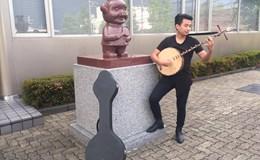 Á quân Vietnam's Got Talent 2016 mang tiếng đàn nguyệt qua Nhật
