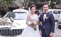 Cận cảnh xế hộp siêu sang rước dâu của MC Thành Trung