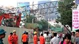 Sự cố sập cần cẩu tại dự án đường sắt đô thị Hà Nội: Yêu cầu dừng thi công, xử lý nhà thầu