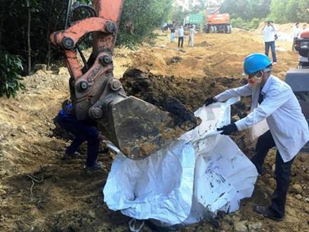 Formosa chôn lấp chất thải ở đâu