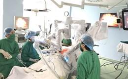 Những bệnh nhân đầu tiên được đại phẫu bằng robot