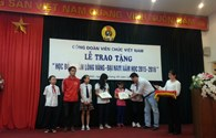 Trao học bổng Tấm Lòng Vàng – Đại Nam cho con CBCNVC thuộc hệ thống CĐVC Việt Nam