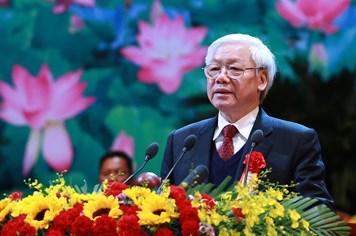 Tổng Bí thư Nguyễn Phú Trọng: Công việc hằng ngày chính là nền tảng thi đua