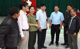 Gia Lai:  Chủ tịch Tổng LĐLĐVN Bùi Văn Cường tiếp xúc cử tri huyện Đắc Pơ