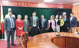 Tổng Liên đoàn Lao động Việt Nam tiếp Đoàn Đại biểu Tổng Công đoàn Mông Cổ